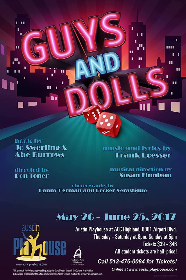 Guys and Dolls by Austin Playhouse