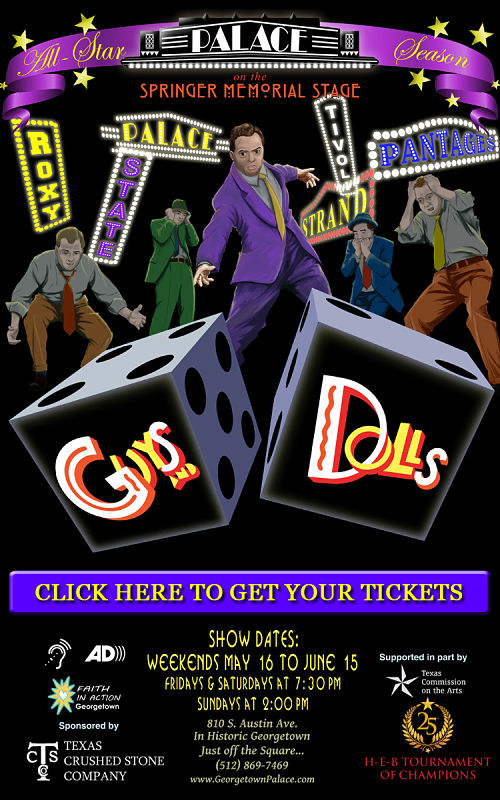 Guys and Dolls by Georgetown Palace Theatre