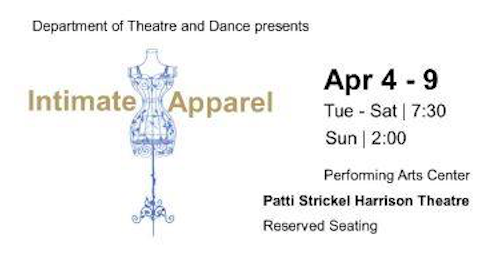 Intimate Apparel by Texas State University