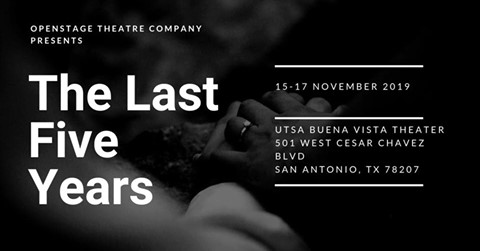 The Last Five Years by Openstage Theatre Company