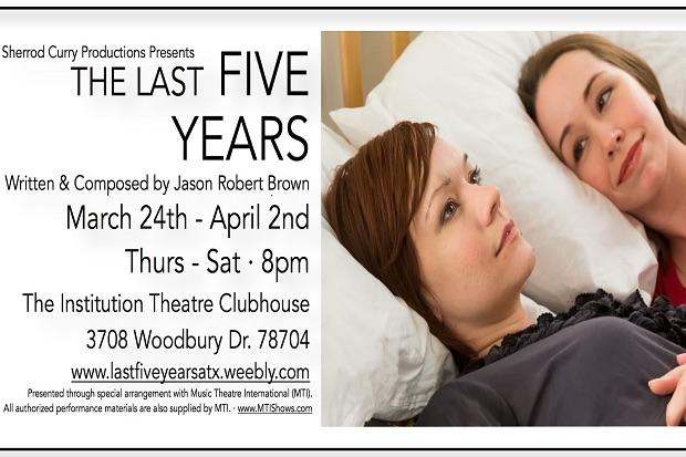 The Last Five Years by Sherrod Curry Productions