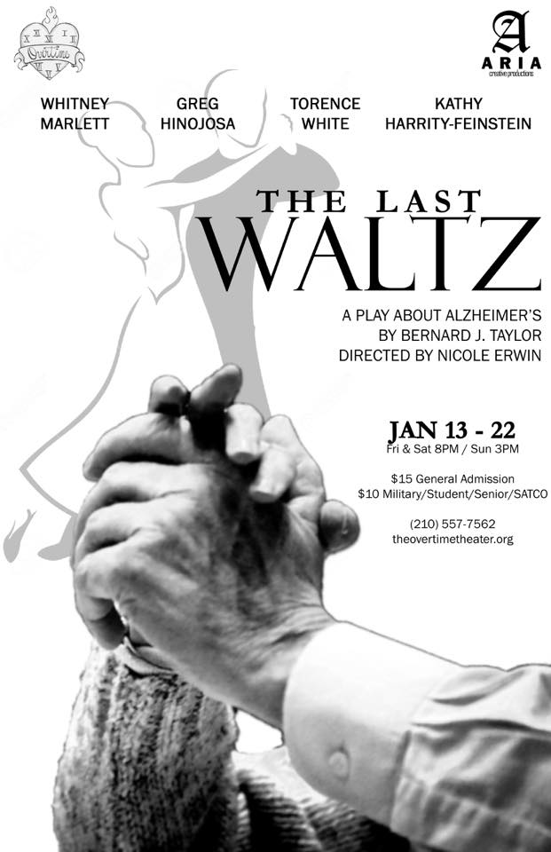 The Last Waltz, a play about Alzheimer's by Overtime Theater