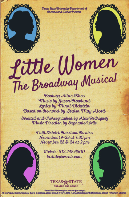 Little Women, the Broadway musical by Texas State University