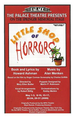 Little Shop of Horrors by Georgetown Palace Theatre
