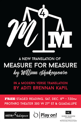 Measure for Measure (modern version) by Austin Shakespeare