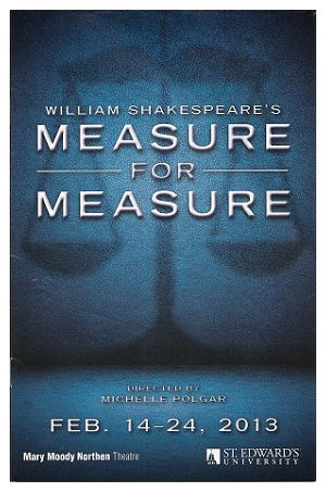 Measure for Measure by Mary Moody Northen Theatre