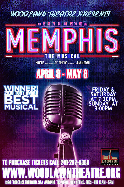 Memphis, the musical by Woodlawn Theatre
