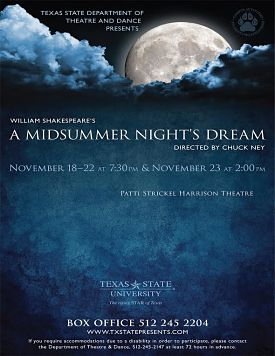 A Midsummer Night's Dream by Texas State University