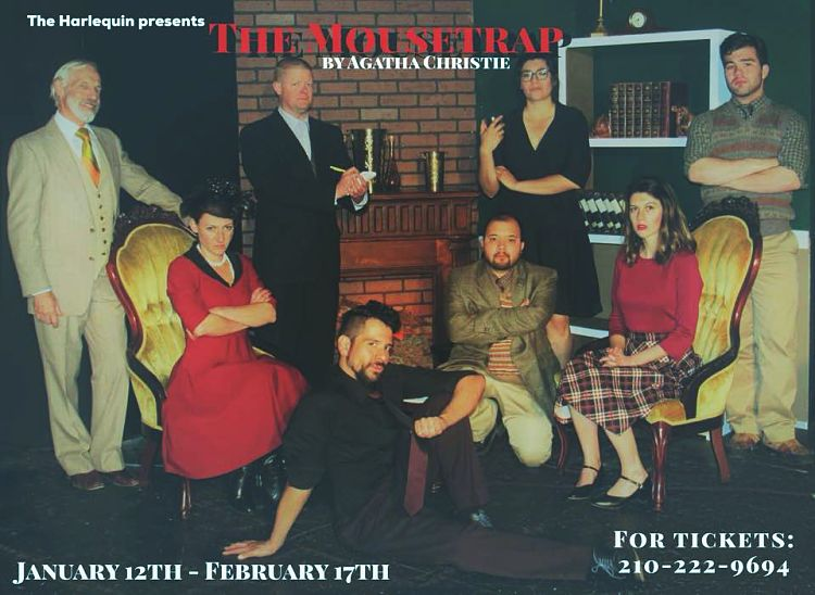 The Mousetrap by The Harlequin