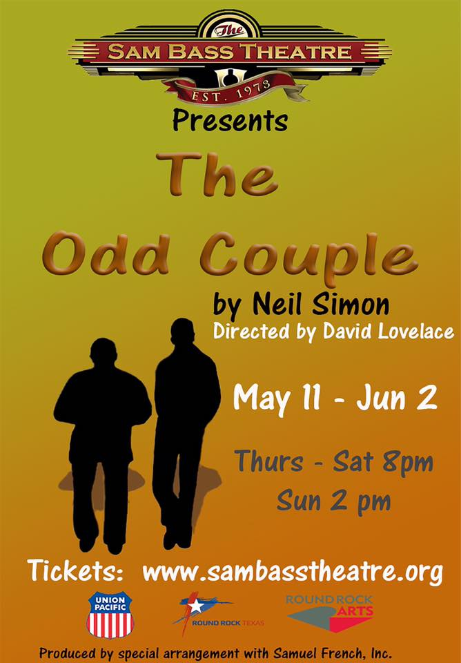 The Odd Couple by Sam Bass Community Theatre