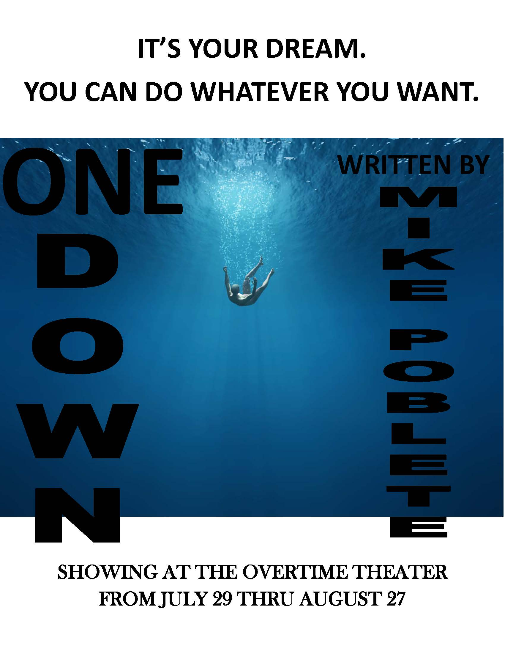 One Down by Overtime Theater