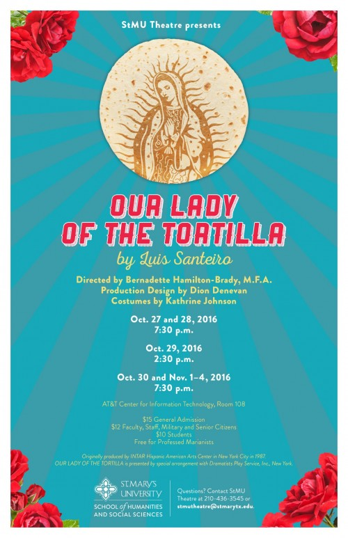 Our Lady of the Tortilla by St. Mary's University