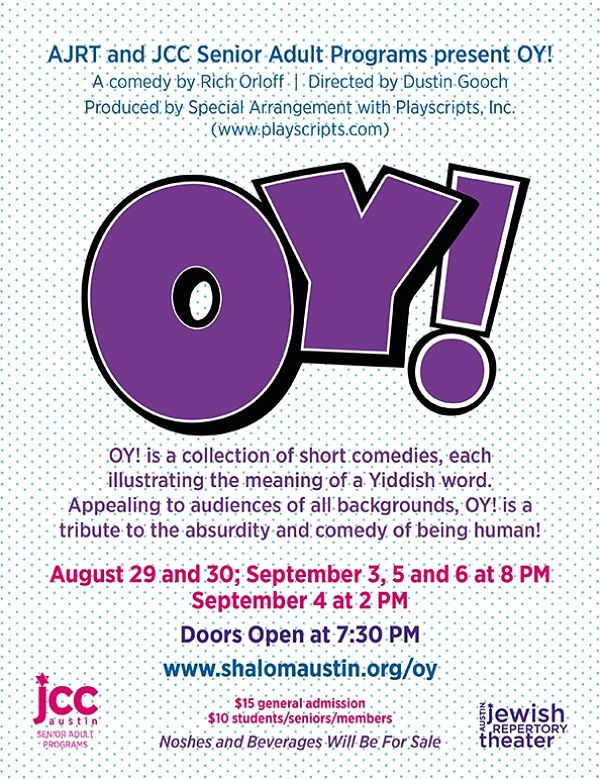 Oy! by Austin Jewish Repertory Theatre