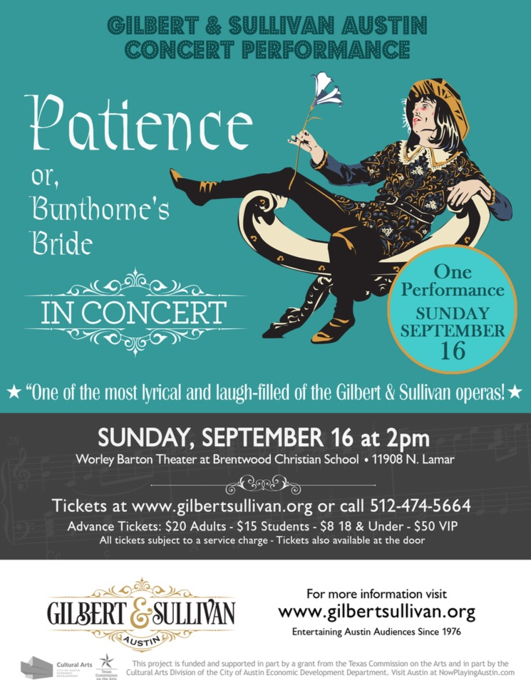 Patience by Gilbert & Sullivan Austin