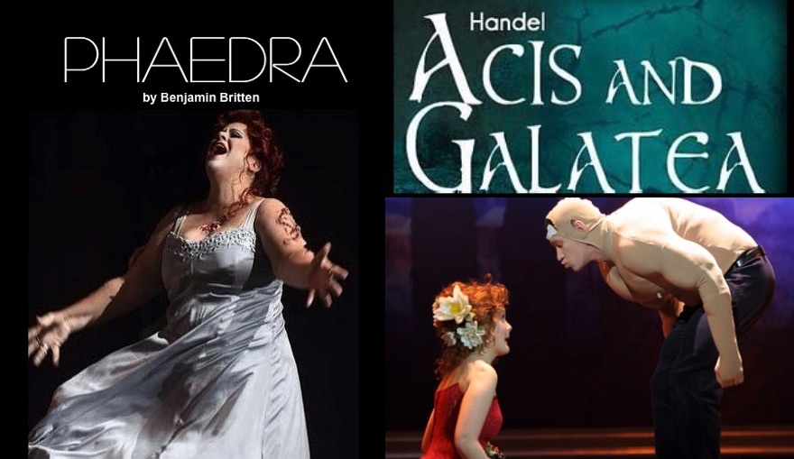 Phaedra AND Acis and Galatea by Opera Piccola San Antonio