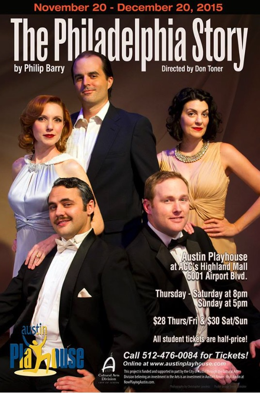 The Philadelphia Story by Austin Playhouse