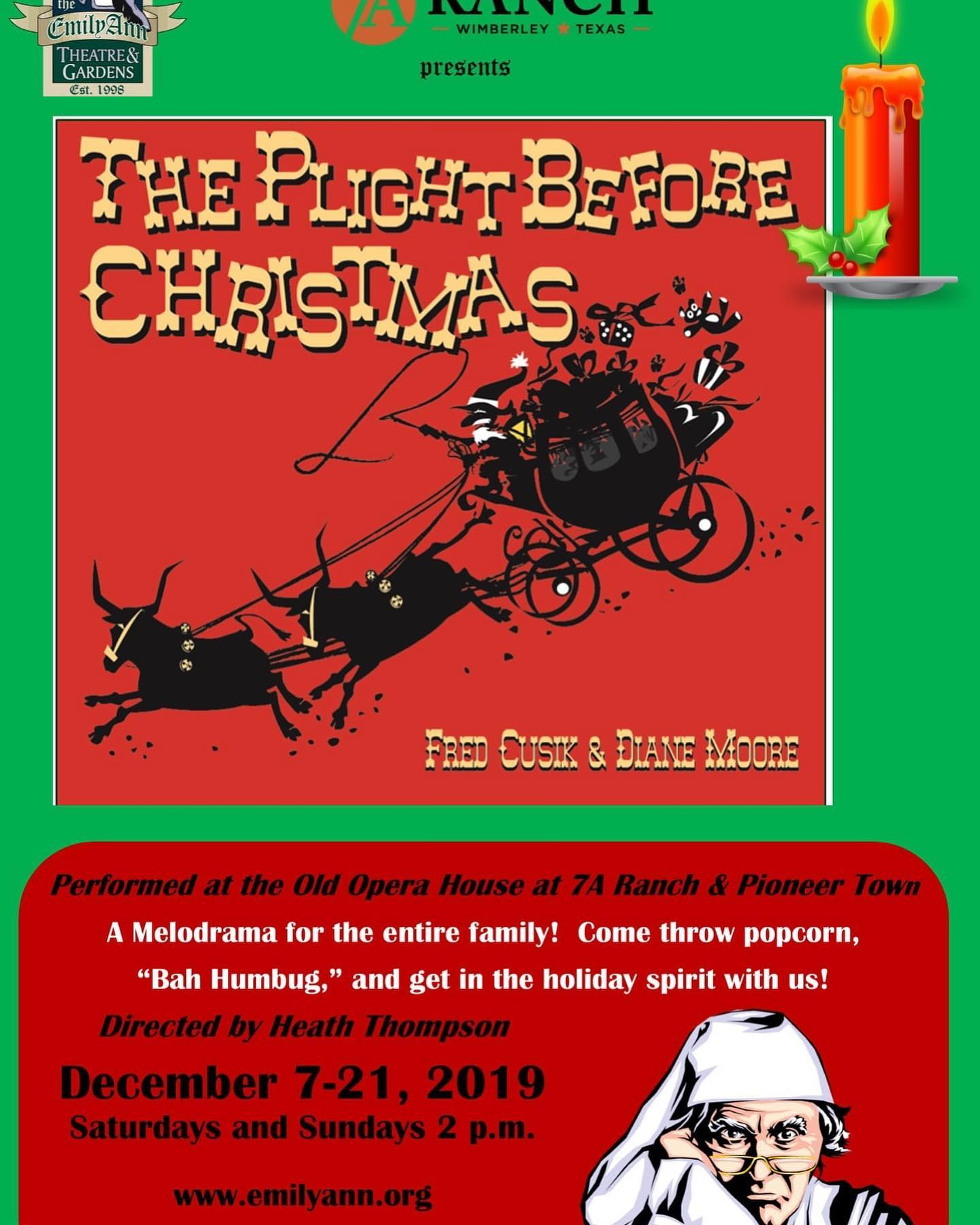 The Plight Before Christmas by Emily Ann Theatre