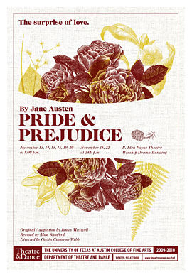 Pride and Prejudice by University of Texas Theatre & Dance