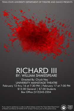 Richard III by Texas State University