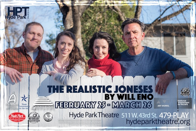 The Realistic Joneses by Hyde Park Theatre