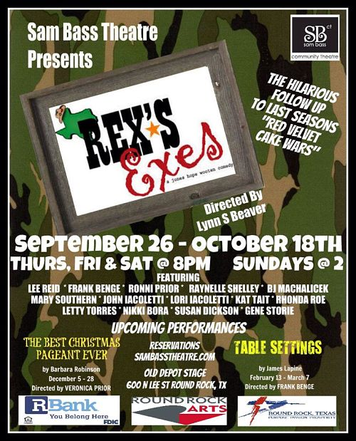 Rex's Exes by Sam Bass Community Theatre