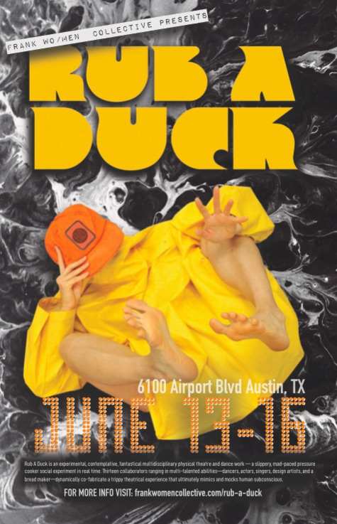 Rub A Duck by Frank Wo/Men Collective