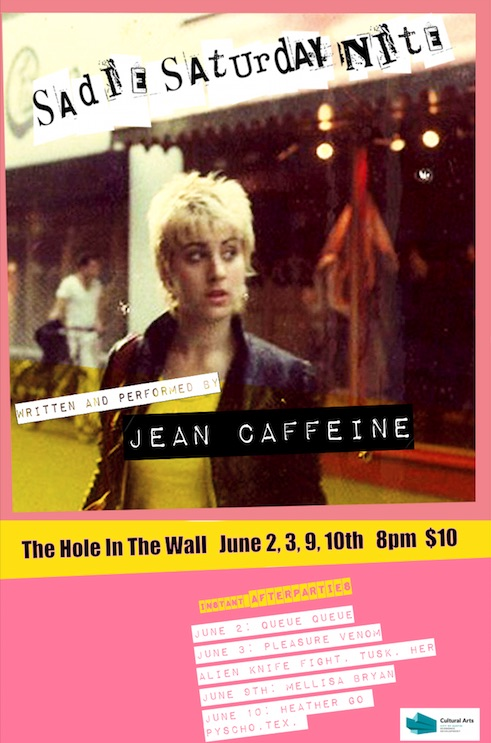 Sadie Saturday Night: A Punk Rock Music Memoir by Jean Caffeine
