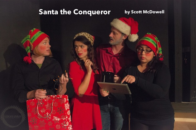 Santa the Conqueror by Overtime Theater