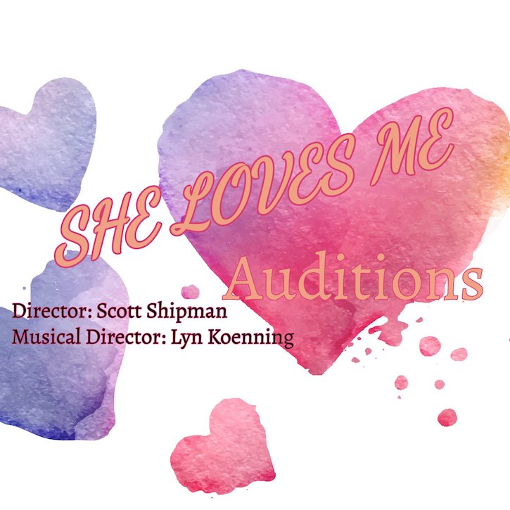 Auditions for She Loves Me, by Austin Playhouse