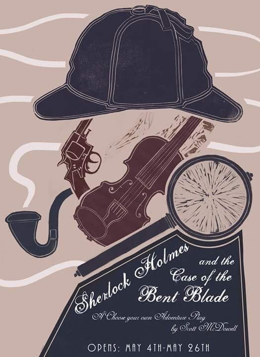 Sherlock Holmes and the Bent Blade, a Comedy Mystery by Overtime Theater
