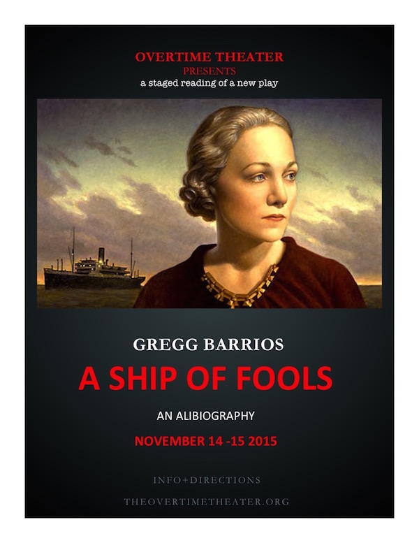 Ship of Fools: An Alibiography by Overtime Theater