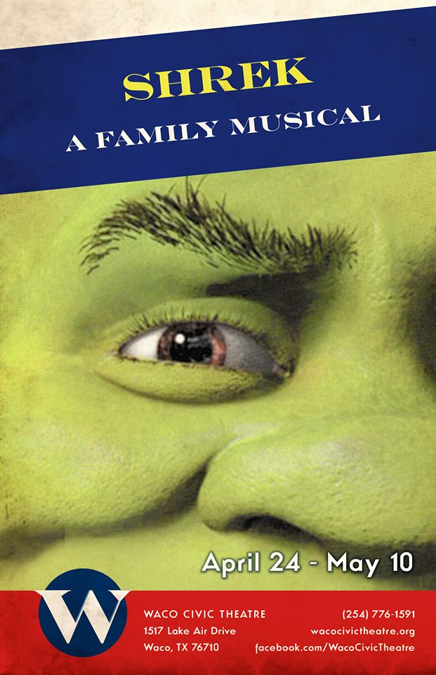 Shrek The Musical by Waco Civic Theatre