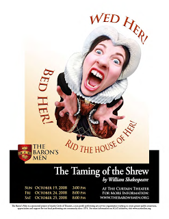 The Taming of the Shrew by The Baron's Men