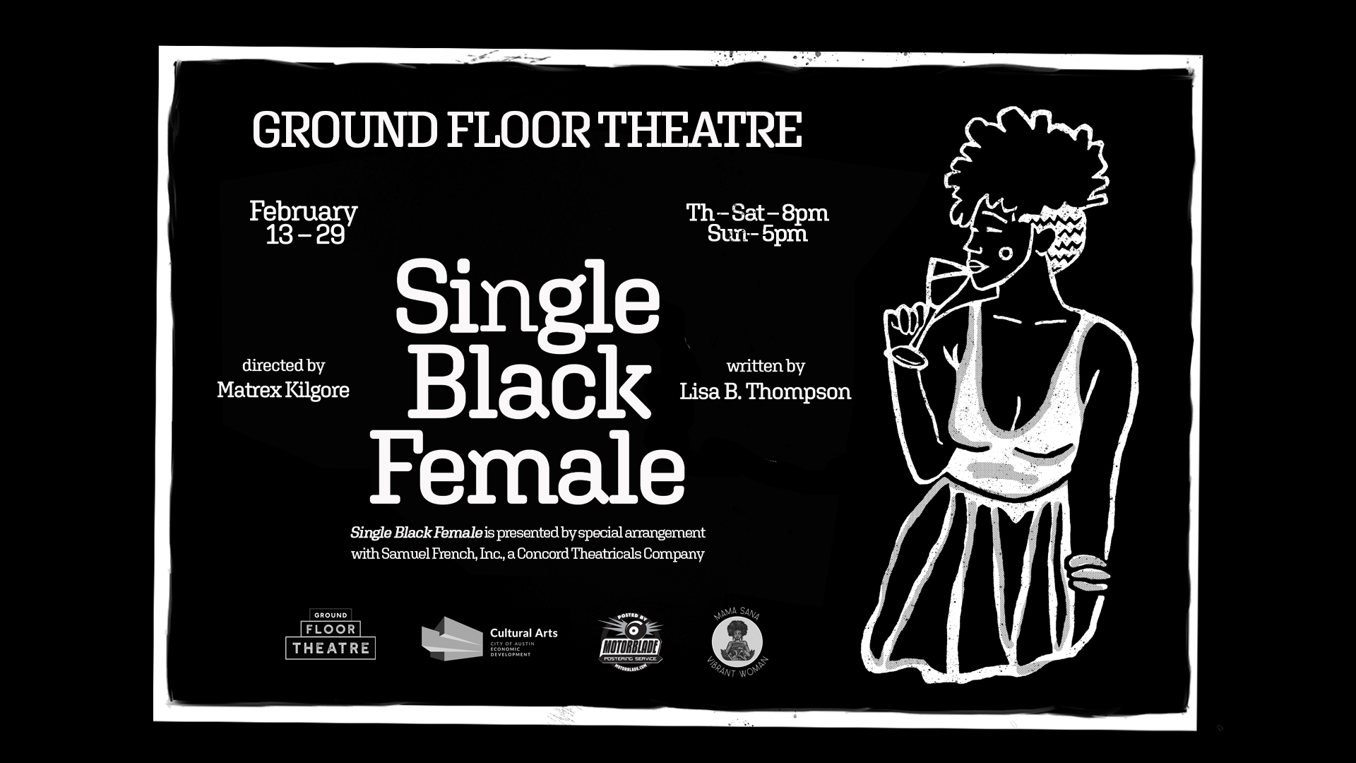 Single Black Female by Ground Floor Theatre