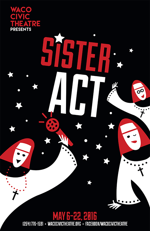 Sister Act by Waco Civic Theatre