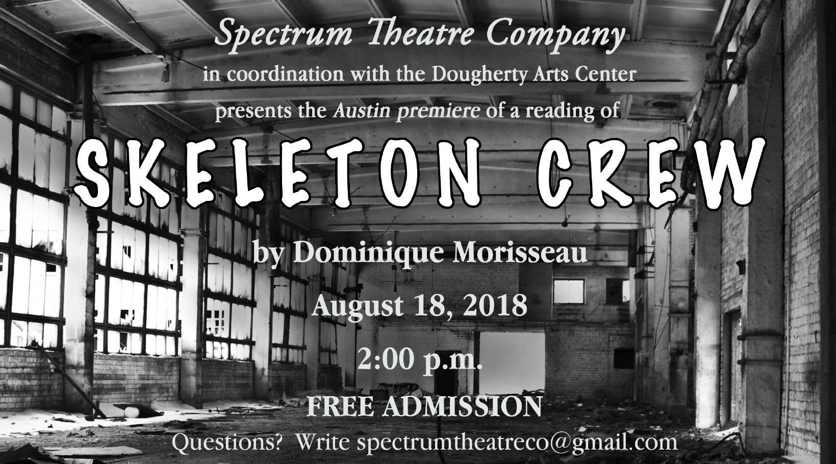 Skeleton Crew by Spectrum Theatre Company