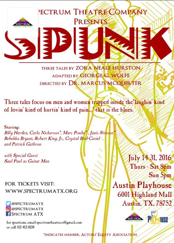 Spunk by Spectrum Theatre Company