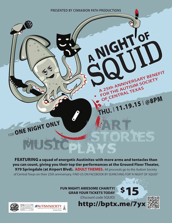 A Night of Squid by Cinnamon Path Theater