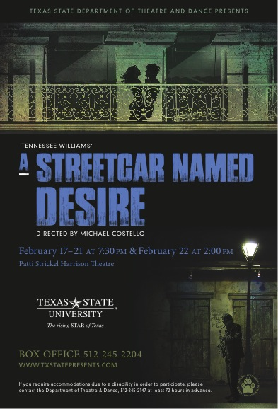 A Streetcar Named Desire by Texas State University