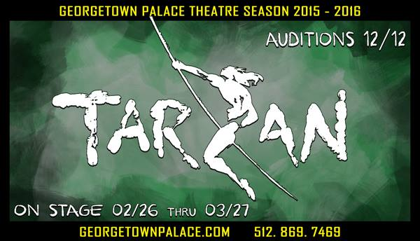 Tarzan, the musical by Georgetown Palace Theatre