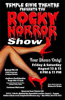 The Rocky Horror Show by Temple Civic Theatre