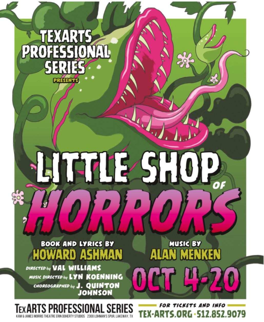 Little Shop of Horrors by Tex-Arts
