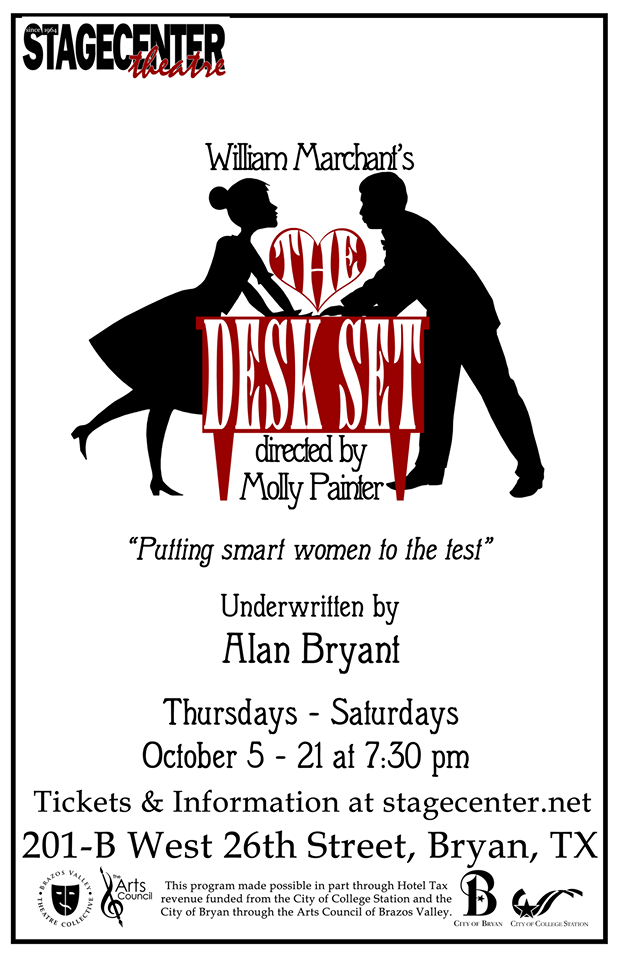 The Desk Set by StageCenter Community Theatre