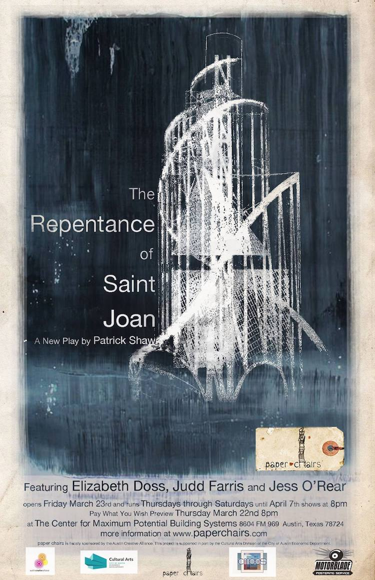 The Repentance of Saint Joan by Paper Chairs
