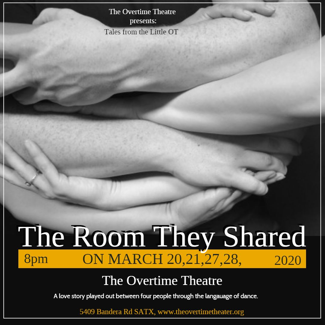 The Room They Shared by Overtime Theater
