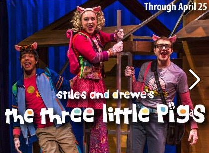 The Three Little Pigs by Zach Theatre