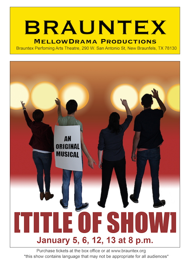 [title of show] by Mellow Drama Productions