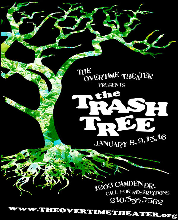 Trash Tree by Overtime Theater