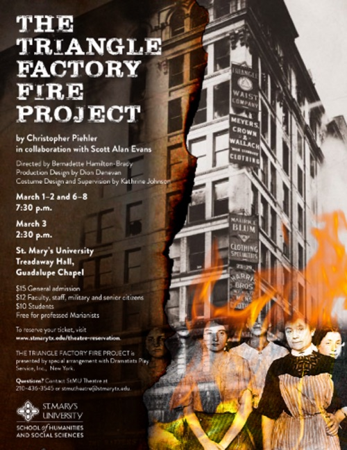 The Triangle Factory Fire Project  by St. Mary's University