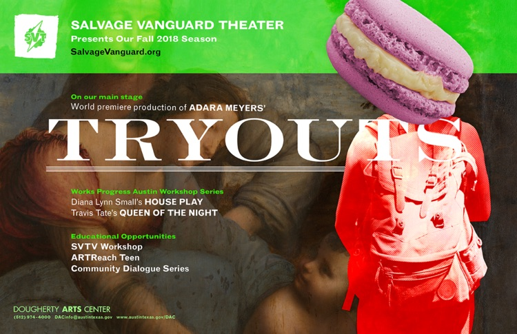 Tryouts by Salvage Vanguard Theater
